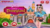 Barbie Visits Disneyland - Barbie Dress Up Game For Girls