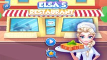 Elsa Restaurant Spinach Lasagna Disney Princess Elsa Best Game for Girls