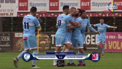 CFA2 (j18) - RÉSUMÉ BAYONNE vs LA ROCHE VF