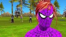Frozen Elsa Snake Attack Spiderman Vs Joker Prank Pink SpiderGirl Hulk Killer Clown Venom