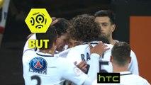 But Benjamin JEANNOT (28ème csc) / FC Lorient - Paris Saint-Germain - (1-2) - (FCL-PARIS) / 2016-17