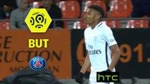 But Christopher NKUNKU (52ème) / FC Lorient - Paris Saint-Germain - (1-2) - (FCL-PARIS) / 2016-17
