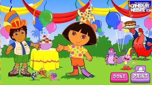 Dora lExploratrice Dora the Explorer full episode English Dora Silly Costume Maker