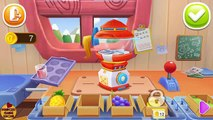 CANDY SHOP | 3D CANDY FACTORY FOR KIDS | LITTLE PANDAS CANDY SHOP | BABY PANDA GAME FOR K