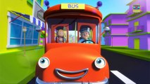 Wheels on the bus nursery rhymes for children | Scary childrens songs