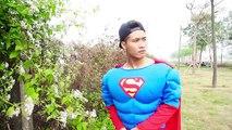 Superman Transgender Love Frozen Elsa & Spiderman robbing money Batman Venom Threaten Snow White