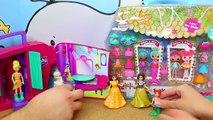 DisneyCarToys Polly Pocket Color Change Dolls & Frozen Elsa Toys Disney Princess MagiClip