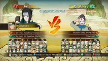Naruto Shippuden Ultimate Ninja Storm Revolution - Naruto Storm Revolution Menu Seleção de