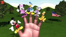 MICKEY MOUSE RIDE SYRINGE CAR Finger Family & MORE | Nursery Rhymes In 3D Animation
