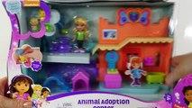 Dora and Friends Animal Adoption Center en Español Play Doh Adopción de Animales Toy Episo
