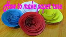how to make paper origami how to make rolled paper roses