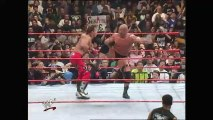 Mike Tyson knocks out Shawn Michaels with a right hook WrestleMania XIV