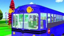 Wheels On The Bus | Nursery Rhymes | Preschool Songs Collection | Baby Songs and 3D Animat