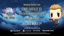 World of Final Fantasy - Invocation de Balthier