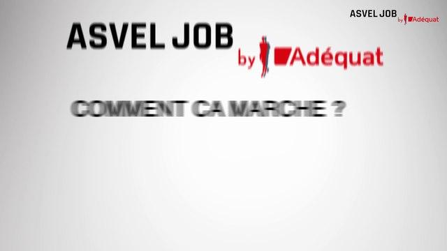 ASVEL Job by Adéquat