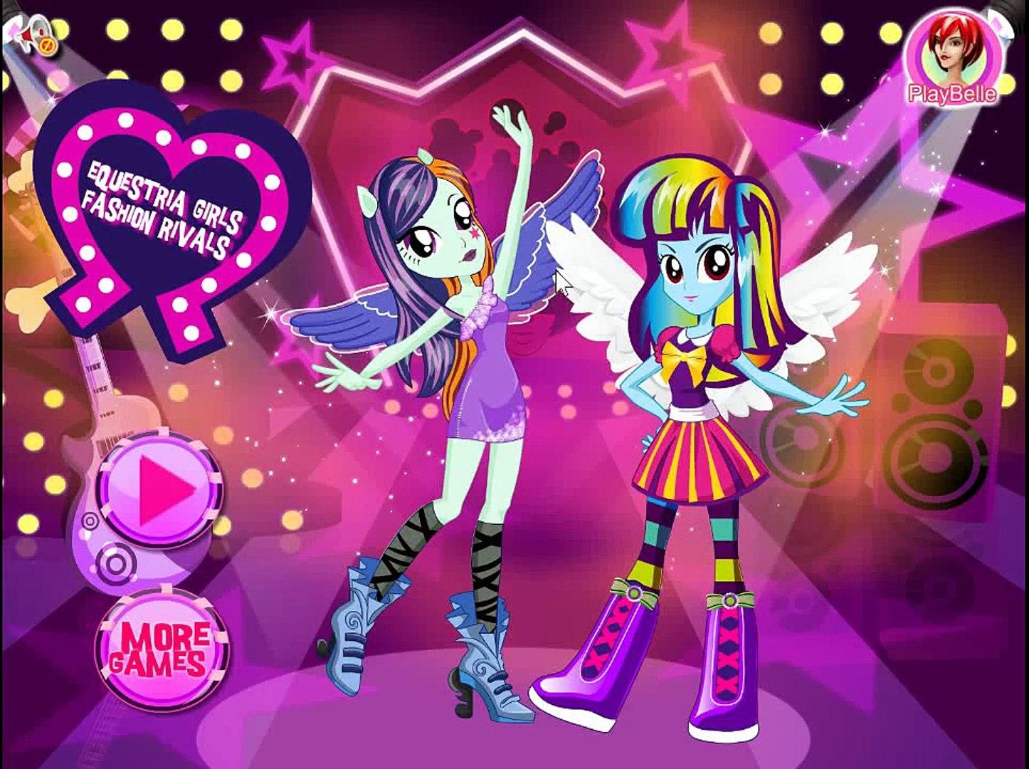 Rainbow Dash K-Pop Fashion: My Little Pony Games - Rainbow Dash K-Pop Fashion