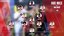Resumé OGC Nice - Caen 29 eme journée Ligue 1