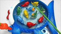 Câu cá trò chơi cho bé bộ lớn - Fishing Game vsdvg