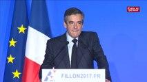 Affaires : « Le suffrage universel, c'est la seule réponse », répond François Fillon