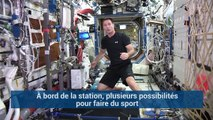 Les drôles de machines de fitness de Thomas Pesquet