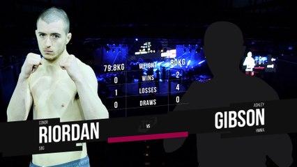 TFC#3   Conor Riordan vs Ashley Gibson
