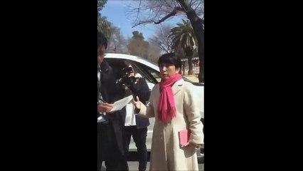 【動画】森友学園視察の福島みずほさん、通行人に朝鮮学校問題を指摘されフリーズ→「ほなお前朝鮮学校やってみいや」みずポ「」