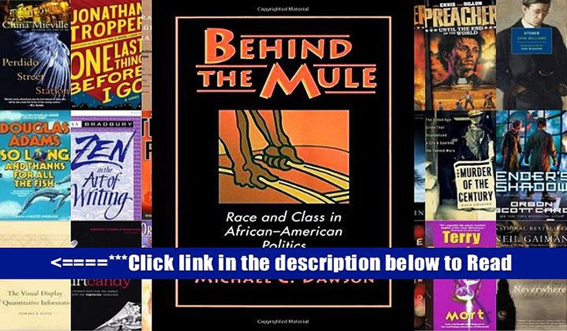 Download Behind the Mule: Race and Class in African-American Politics PDF Popular Collection