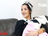 """En Toute Intimité : Julia Paredes : """"J'ai décidé de montrer Luna pour qu'on arrête de me traquer !"""""""