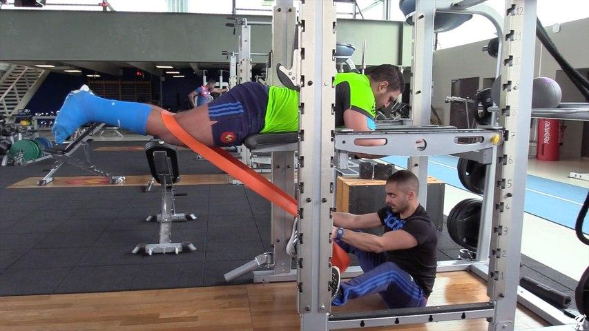 Développement du corps entier pour joueur immobilisé sur le bas du corps