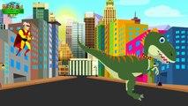 Superheroes Vs Zombies Attacks | Spiderman Hulk Vs Dinosaurs Finger Family Nurse