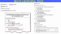 IELTS Listening | Cambridge IELTS 4 | Test 4 With Answer Key - video