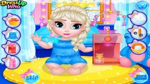 Disney Frozen Games - Ice Babies Elsa X Abbey – Best Disney Princess Games For Girls And K