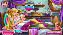Pregnant Rapunzel Elsa Belle Gives Birth | Princess Baby Birth Compilation For Kids
