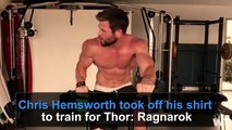 Try Not To Drool Watching Chris Hemsworth's Shirtless Workout