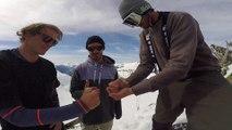 Adrénaline - Ski : Deux belles sessions freestyle aux Arcs pour Romain Grojean, Valérian Ducourtil et Jules Bonnaire