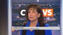 """Anne Sinclair : """"M. Le Pen au 2e tour ? Tout le monde s'est habitué à cette idée !"""" - L'invité de Laurence Ferrari"""