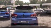 Volkswagen Golf GTI VS Honda Civic Type R Street Race