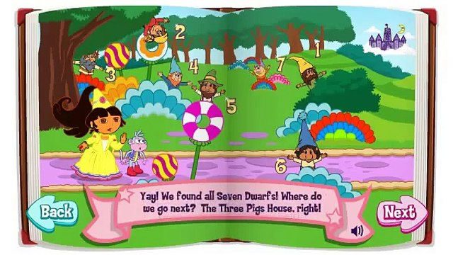 Dora The Explorer Doras Fairytale Fiesta Game video 01