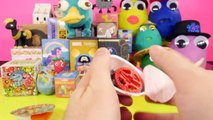 NEW Surprise Playdough Eggs Blind Boxes Opening Bruce Lee Kinder Joy Disney Star Wars DCTC