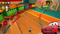 ★ ТАЧКИ МОЛНИЯ МАКВИН БАССЕЙН Машинки Маквин Гонки Игры для детей cars toys Lightning McQu