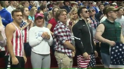 UNREAL: High school students in hot water for wearing PATRIOTIC COLORS to basketball game