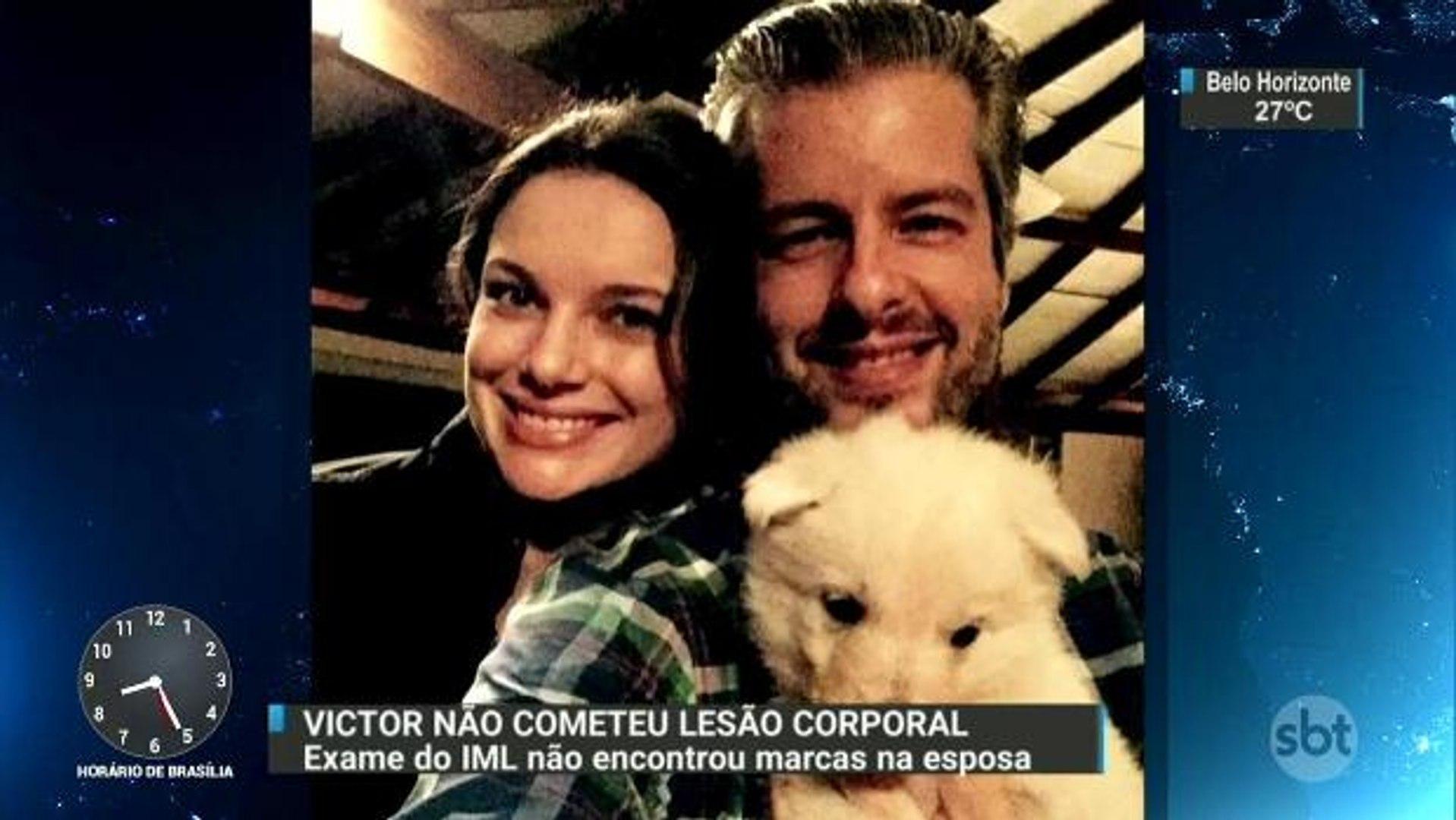 Laudo afirma que mulher do cantor sertanejo Victor não sofreu lesão corporal