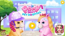 Fun Animal Pet Care - Doctor Kids Game Pony Sisters Pet Hospital - Fun and Free Game for Kids