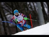 Jakub Krako (1st run) | Men's slalom visually impaired | Alpine skiing | Sochi 2014 Paralympics