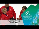 Day 6 | Wheelchair curling play of the day | Sochi 2014 Paralympic Winter Games