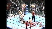 Rusher Kimura/Mighty Inoue/Mitsuo Momota vs Masa Fuchi/Masao Inoue/Haruka Eigen (All Japan May 7th, 1994)