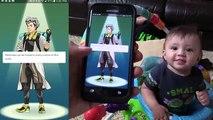 Pokemon GO! Hunting in Real Life w/ FGTEEV Boys! Shawn Gotta Gun!!! Part 1 (Smartphone Gam