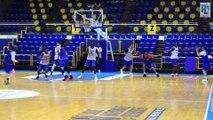 Itw Louis Labeyrie avant la réception de Cholet Basket J23 ProA