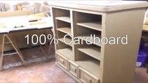 All Cardboard Wardrobe - DIY - Handmade