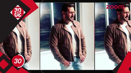 Salman Khan's New Dashing Look, Salman Snapped Riding Bicyle Near His Panvel Farmhouse